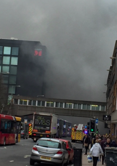 Fire in Glasgow