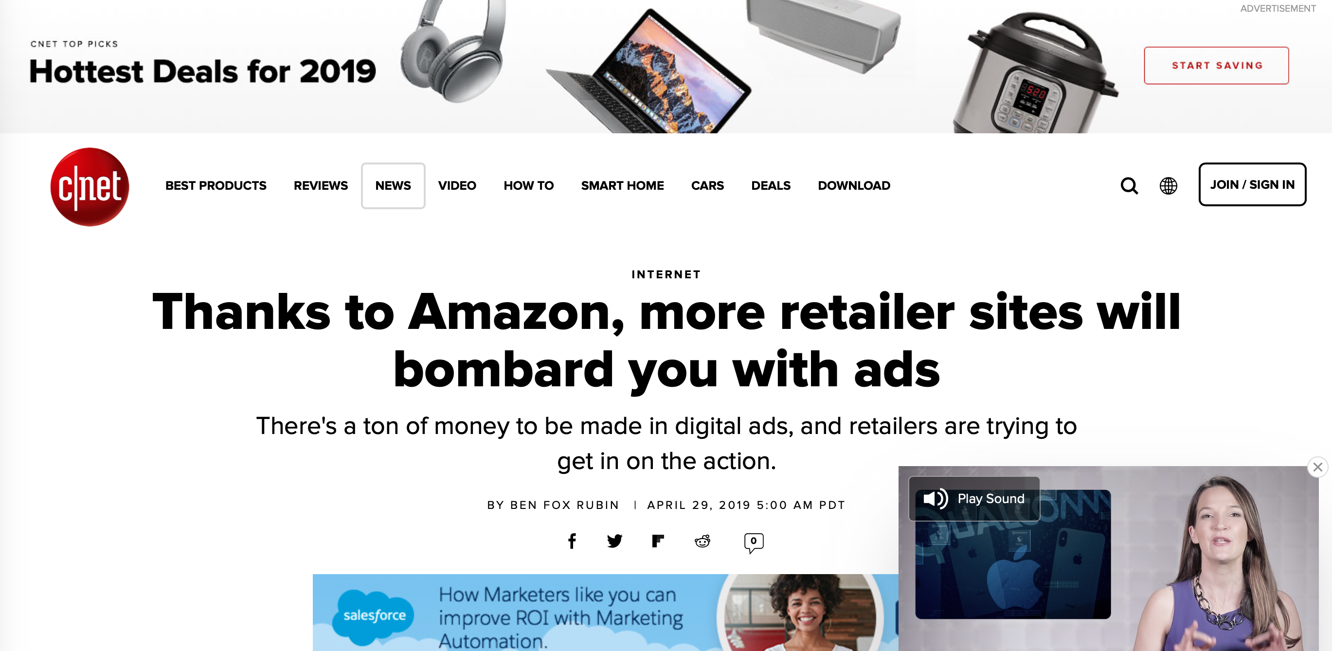 Ads on Amazon