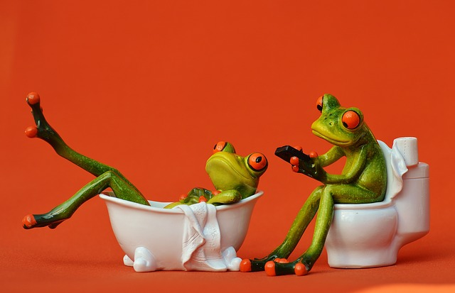 Bath frogs