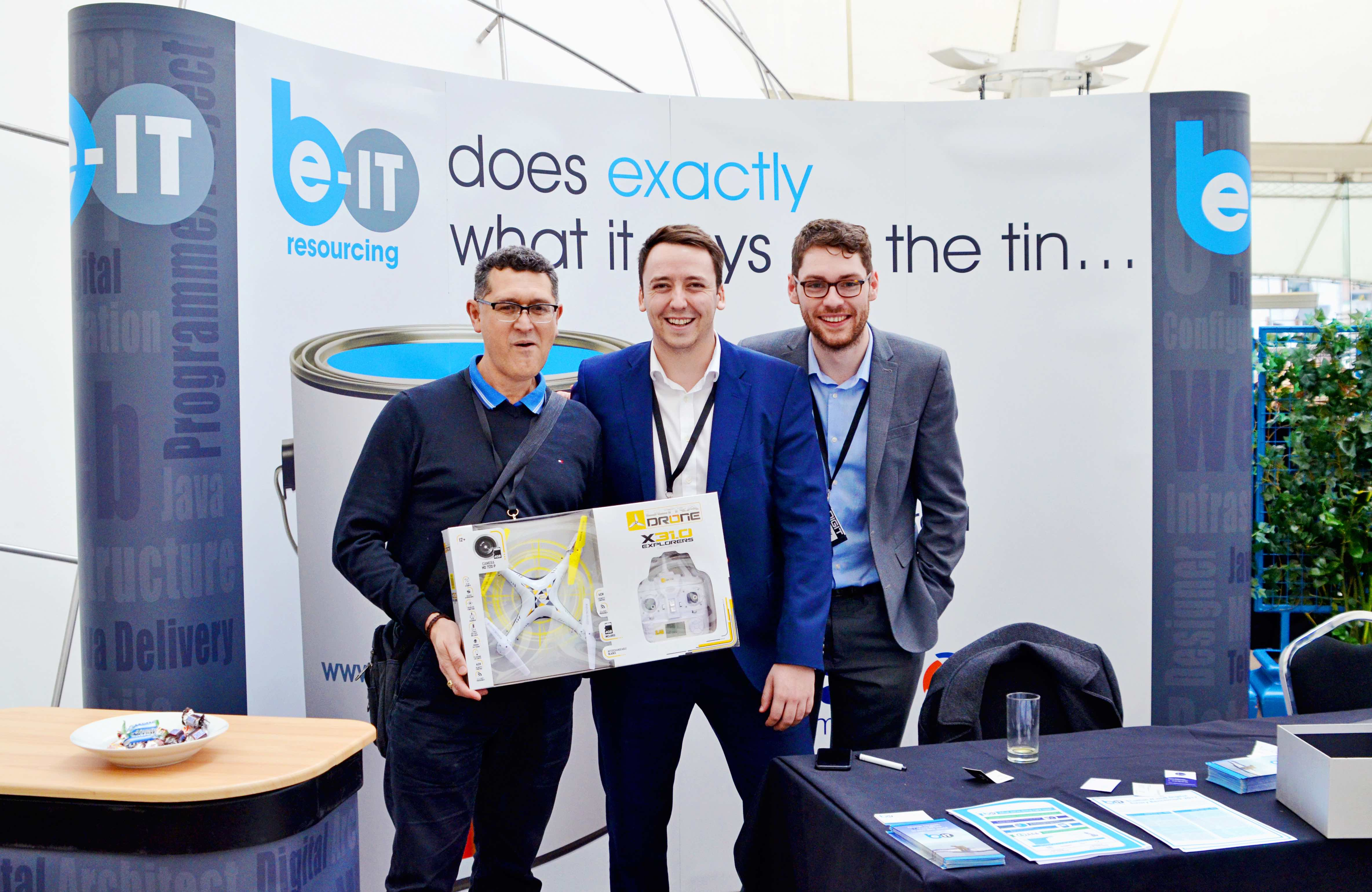 Digital Transformation Conference, Be-IT Drone winner