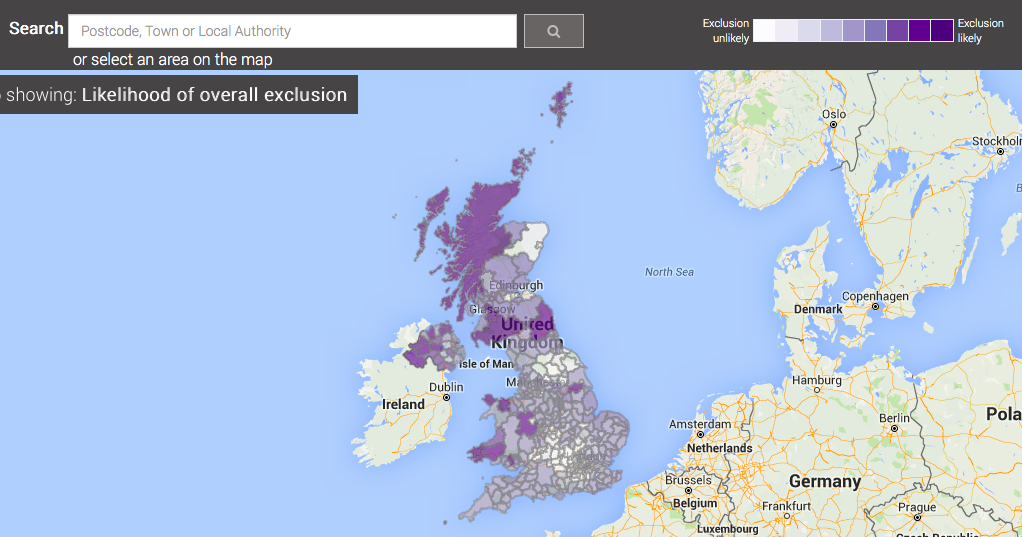 Digital Exclusion graphic