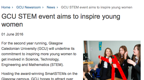GCU Stem Event picture