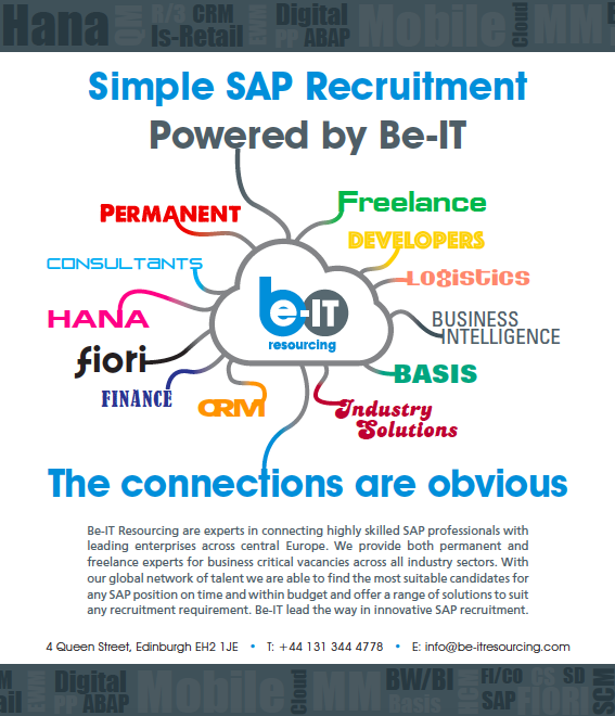 Be-IT SAP infographic