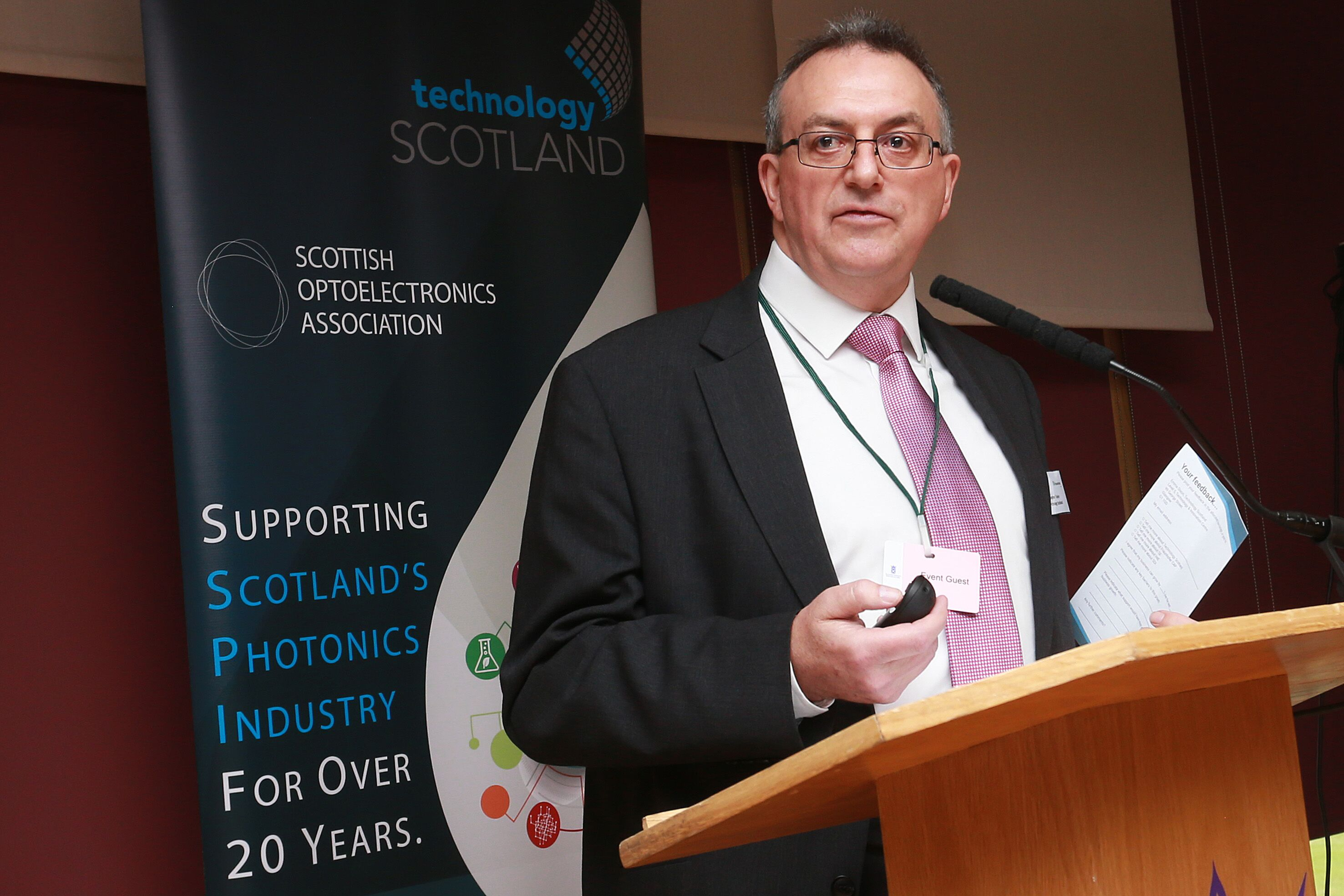 Stephen Taylor, CEO of Technology Scotland,