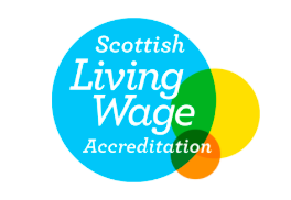 Scottish Living Wage Accreditation logo