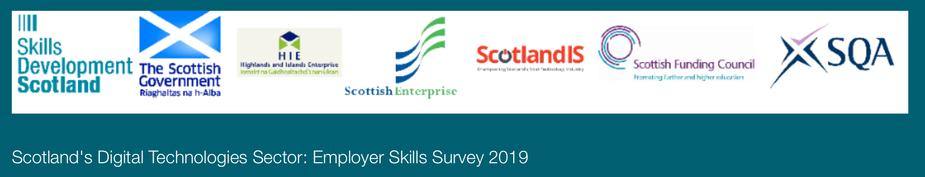 Help please! Skills Development Scotland analysis of the digital technologies sector