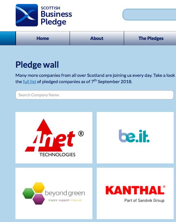 Be-IT takes the pledge*