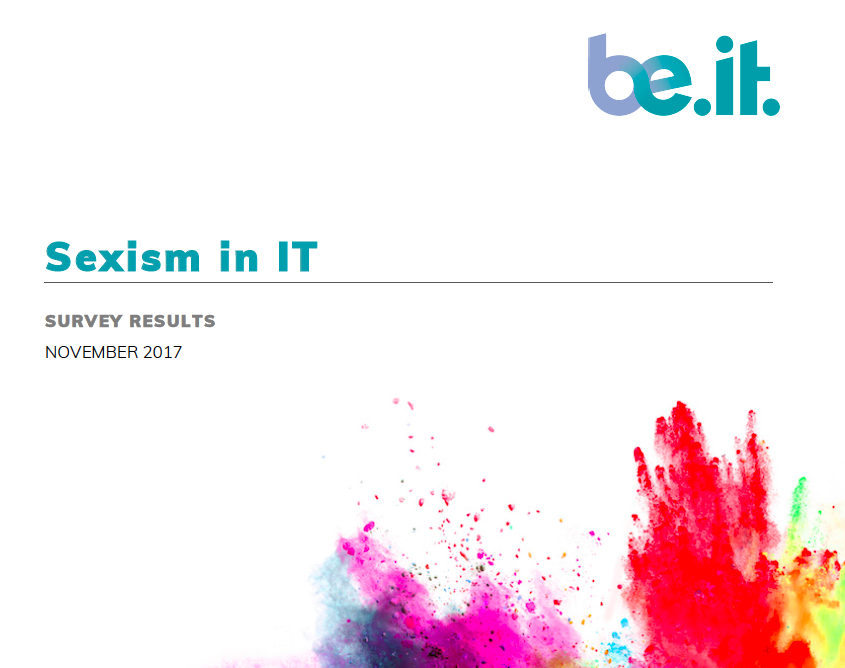 Sexism in IT in Scotland.  The Report.